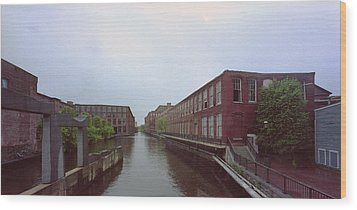 Market Mills Lowell Wood Print by Jan W Faul