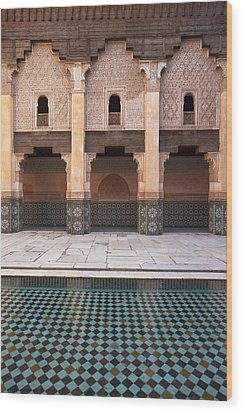 Marrakesh, Morocco Wood Print by Axiom Photographic
