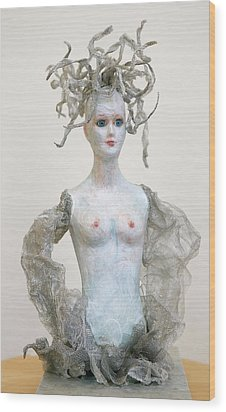 Medusa Wood Print by Ruth Edward Anderson