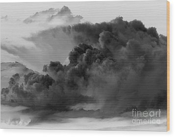 Mega Storm Cloud Wood Print