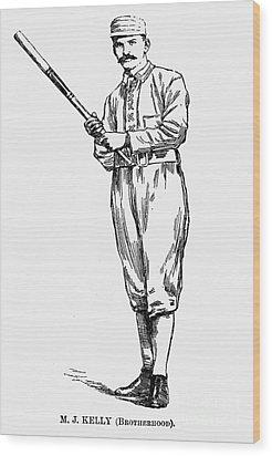 Michael Joseph Kelly Wood Print by Granger