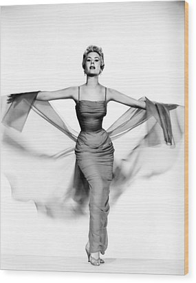 Mitzi Gaynor, Ca. 1950s Wood Print by Everett