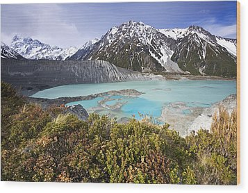 Mount Cook National Park Wood Print