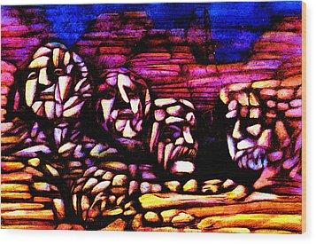 Mount Rushmore Wood Print by Giuliano Cavallo