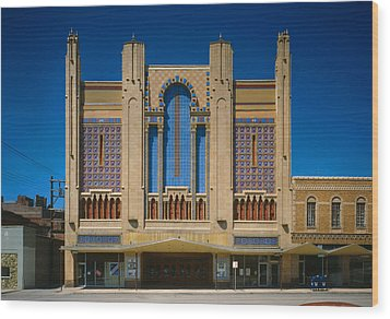 Movie Theaters, Missouri Theater Wood Print by Everett
