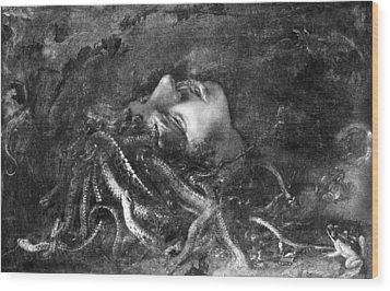 Mythology: Medusa Wood Print by Granger