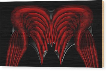Nanocyte Wood Print by Christopher Gaston