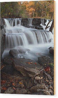 Natural Dam Wood Print
