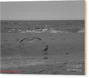 Wood Print featuring the photograph Navarre Beach by Janice Spivey
