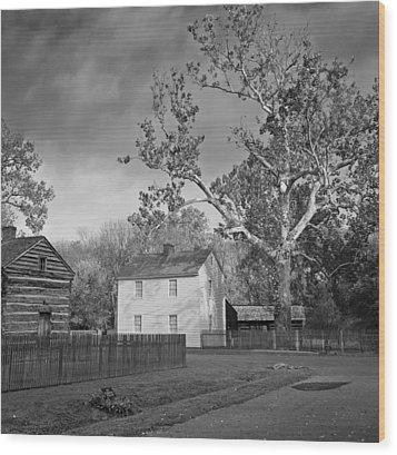 New Harmony Wood Print by Michael Avory