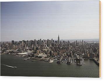 Wood Print featuring the photograph New York City by Paul Plaine