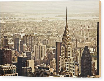 New York City  Wood Print by Vivienne Gucwa