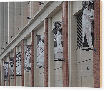 New York Mets Of Old Wood Print by Rob Hans