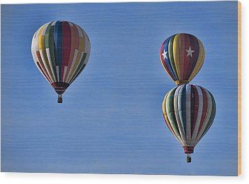 New York State Festival Of Balloons Wood Print by Joe Granita