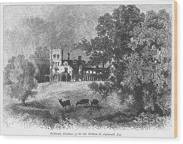 New York State: Villa Wood Print by Granger
