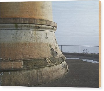 Wood Print featuring the photograph North Head Lighthouse 6 by Peter Mooyman