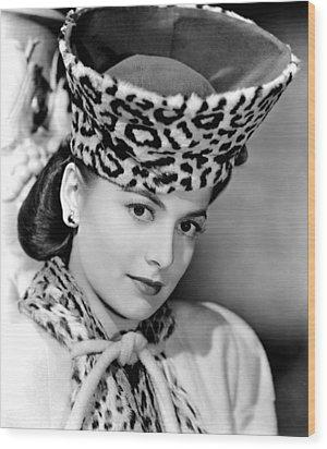 Olivia De Havilland, 1943 Wood Print by Everett
