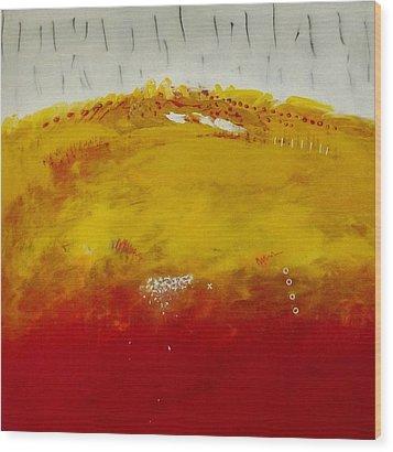 Open Sky. Wood Print by Jorgen Rosengaard