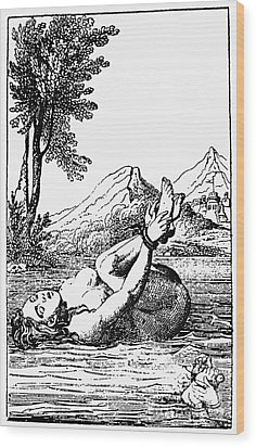 Ordeal By Water Wood Print by Granger