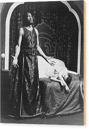 Othello, Uta Hagen As Desdemona, Paul Wood Print by Everett