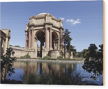 Wood Print featuring the photograph Palace Of Fine Arts by Denise Pohl