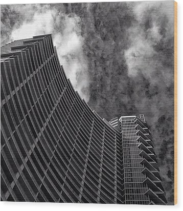 Paramount Bay - Miami Wood Print