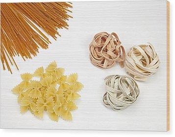 Pasta Wood Print by Joana Kruse