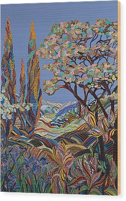 Pastorale Wood Print