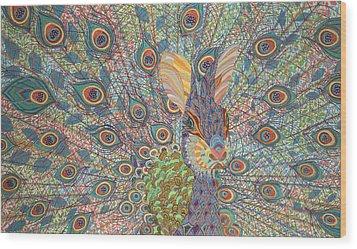 Peabit  Wood Print by Erika Pochybova