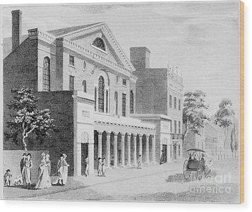 Philadelphia: Theater Wood Print by Granger