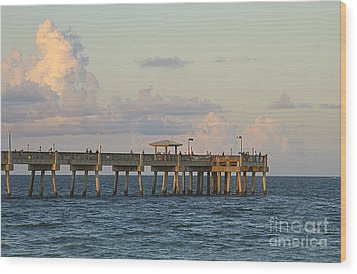 Pier Wood Print by Blink Images
