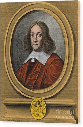 Pierre De Fermat, French Mathematician Wood Print by Photo Researchers, Inc.