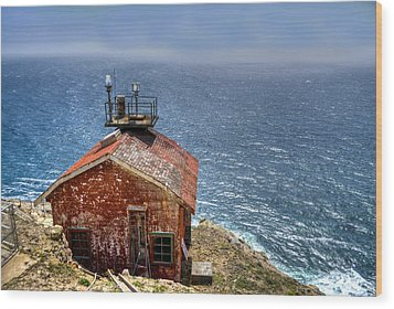 Point Reyes Lighthouse Wood Print by Diego Re