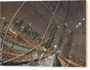 Power Of Perspective Wood Print by Joshua Ball