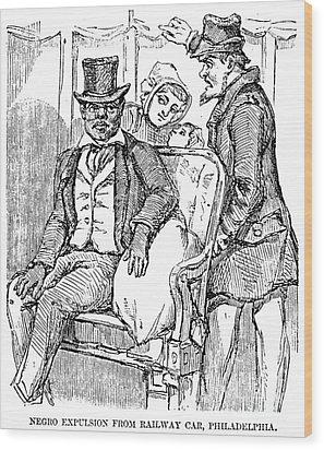 Railway Segregation, 1856 Wood Print by Granger