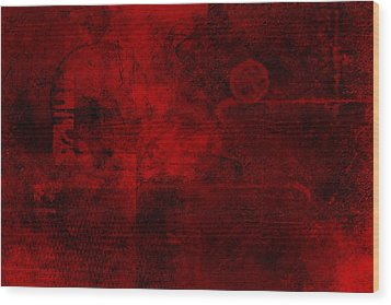 Redstone Wood Print by Christopher Gaston