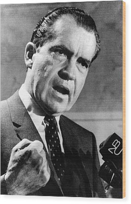 Republican Presidential Candidate Wood Print by Everett