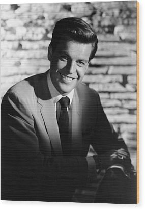 Robert Wagner, 1950s Wood Print by Everett