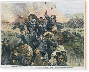 Rock Springs Massacre Wood Print by Granger