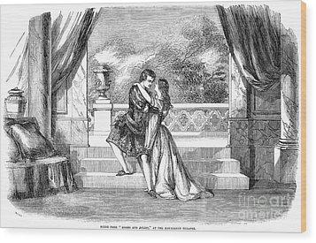 Romeo & Juliet Wood Print by Granger