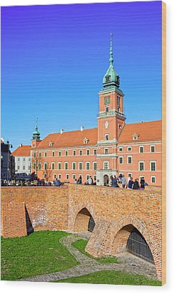 Royal Castle In Warsaw Wood Print by Artur Bogacki