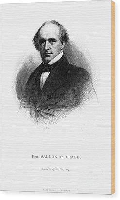 Salmon Portland Chase Wood Print by Granger