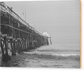 San Clemente Pier Wood Print by Ralf Kaiser