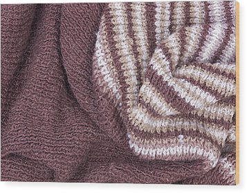 Scarf From Wool Manual Are Viscous Wood Print by Aleksandr Volkov