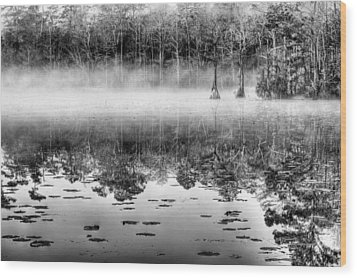 Shrouded Wood Print by JC Findley