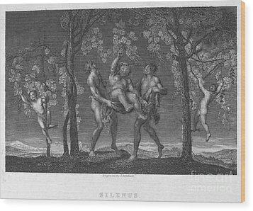 Silenus Wood Print by Granger