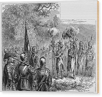 Sir Francis Drake Wood Print by Granger