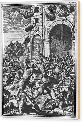 Sir Henry Morgan Wood Print by Granger