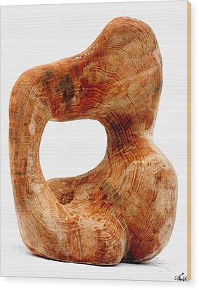 Sorprendido 3 Wood Print by Jorge Berlato