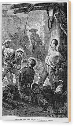 Spain: Second Carlist War Wood Print by Granger